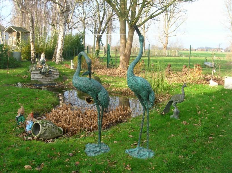 Tuinbeelden Brons Tuin : Tuin deco jardin: bronzen beelden